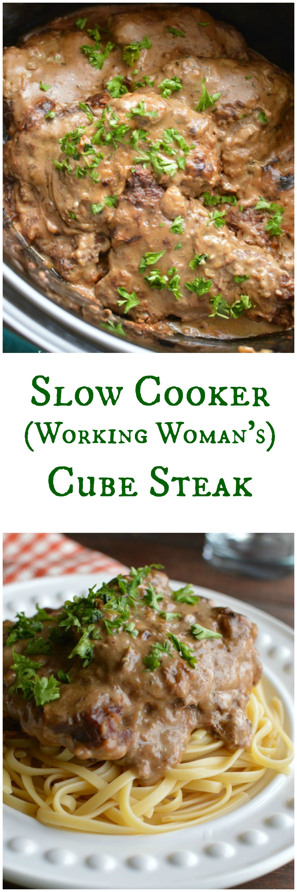 By time I get home at night, I'm tired and hungry. Thanks goodness for slow cookers! There's nothing like coming home to the smell of Cube Steak in a diving mushroom sauce!  Little Dairy on the Prairie