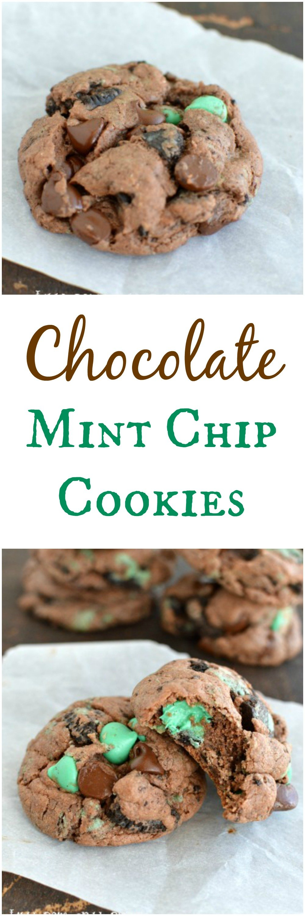 Each bite of these melt in your mouth chocolate cookies is an explosion of minty goodness! It might be my new favorite cookie!  Little Dairy on the Prairie