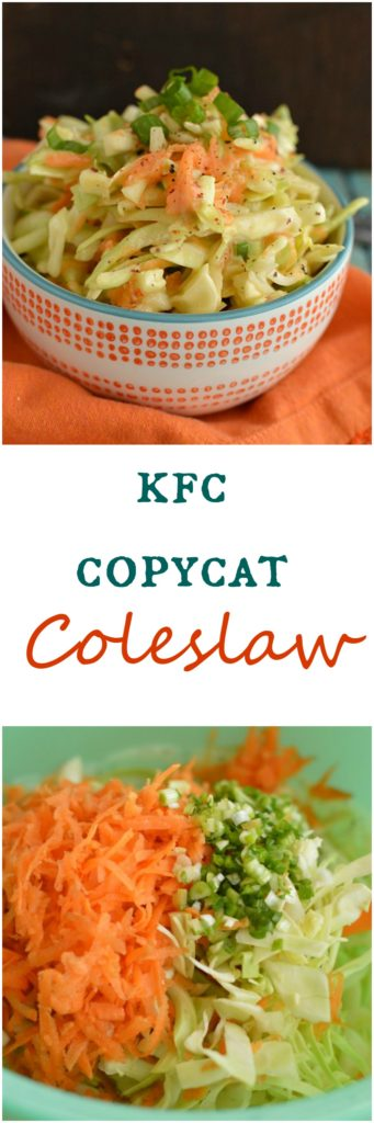 My friend shared her KFC Copycat Coleslaw recipe with me, I think it's even better! The BEST coleslaw ever!  Little Dairy on the Prairie