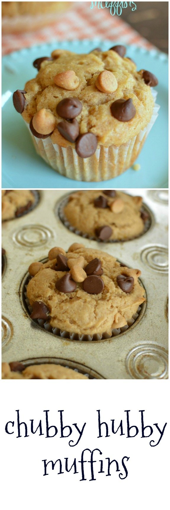 Chubby Hubby Muffins are for those days that need to begin with chocolate and peanut butter! Oh ya, the bananas make these muffins EXTRA moist! Little Dairy on the Prairie