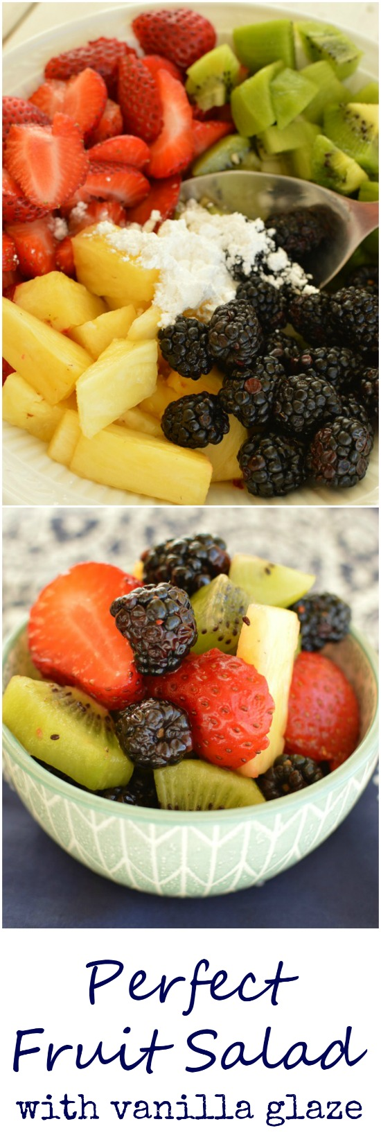 Not only does this fruit salad look like eye candy, you will like it even better than candy! This exactly what I'm craving this spring!  Little Dairy on the Prairie