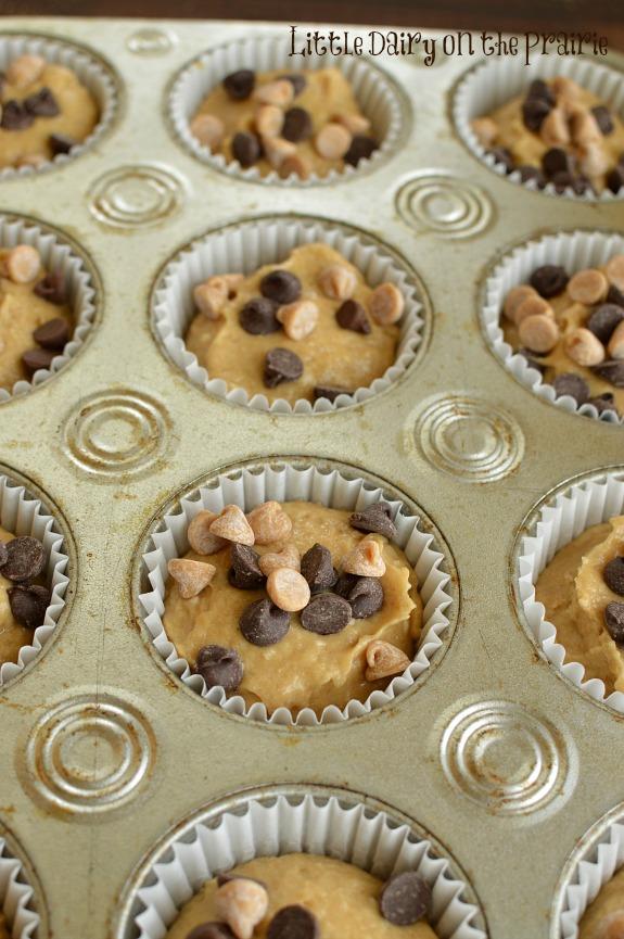 Peanut Butter, Banana Muffins