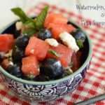 Watermelon, Blueberry, & Feta Salad
