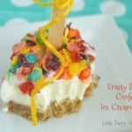 Fruity Pebbles Confetti Ice Cream Squares