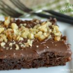 My favorite chocolate zucchini cake...EVER!  Little Dairy on the Prairie