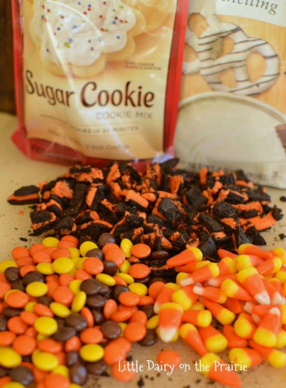 Easy Halloween Sugar Cookie Bars