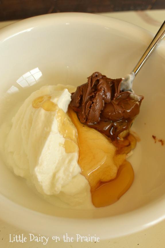 Skinny Chocolate Dip