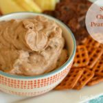 Skinny Chocolate & Peanut Butter Dip