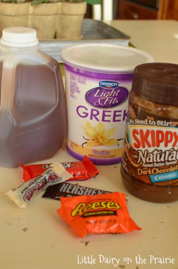 Skinny Peanut Butter Dip