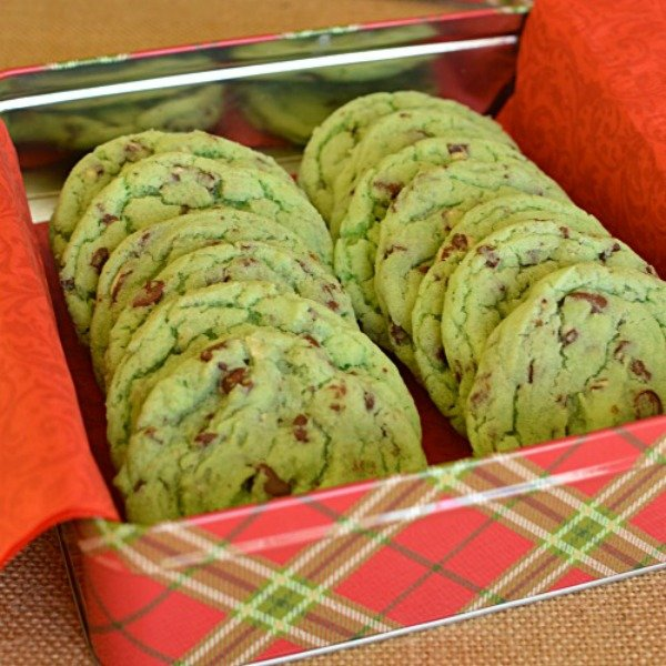 Melt in your mouth Mint Chip Sugar Cookies!!!