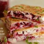 Turkey & Cranberry Quesadillas