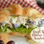 Greek Yogurt Chicken Salad Sandwiches
