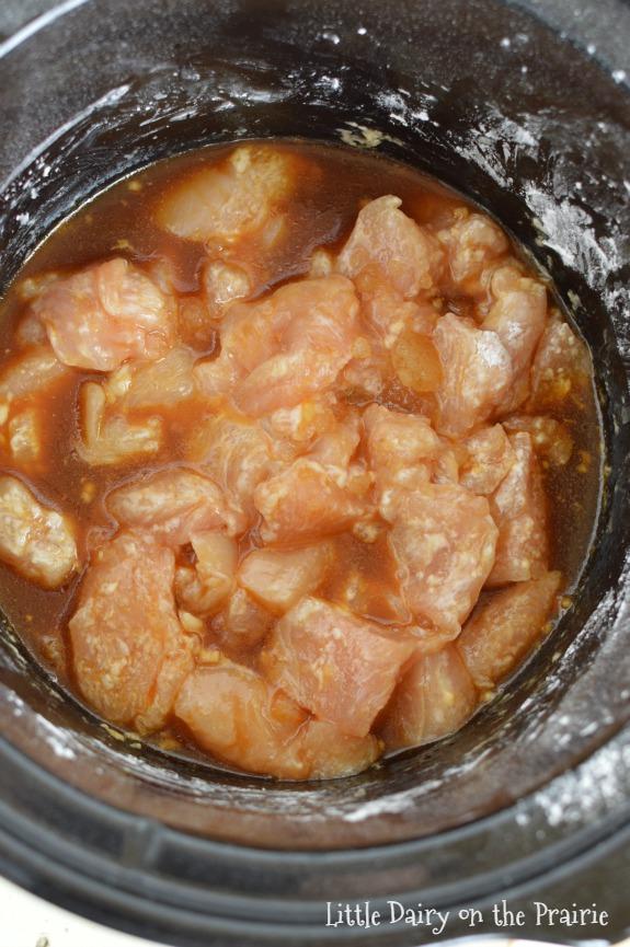 Slow Cooker Skinny Orange Chicken.