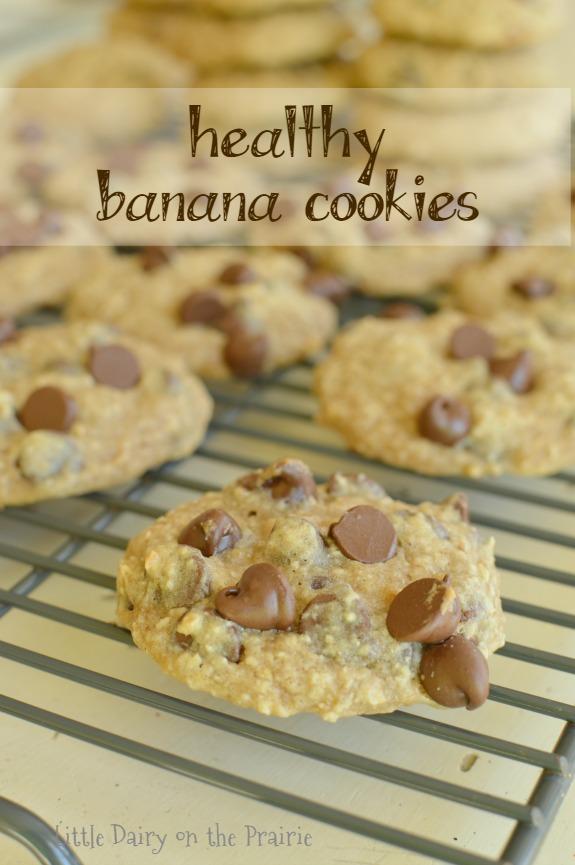 Healthy Banana Cookies