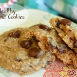 Healthy Chocolate Chip Banana Cookies