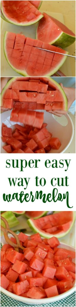 Want to know the easiest way to cut watermelon You are going to wish you would have know this your whole life!