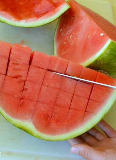 The Easiest Way to Cut Watermelon