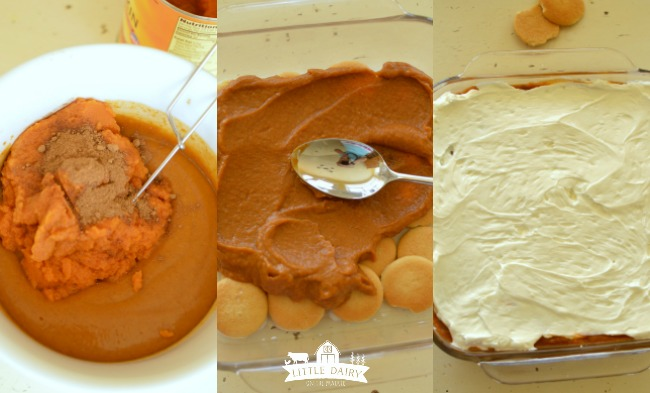 No Bake Pumpkin Toffee Icebox Cake-8