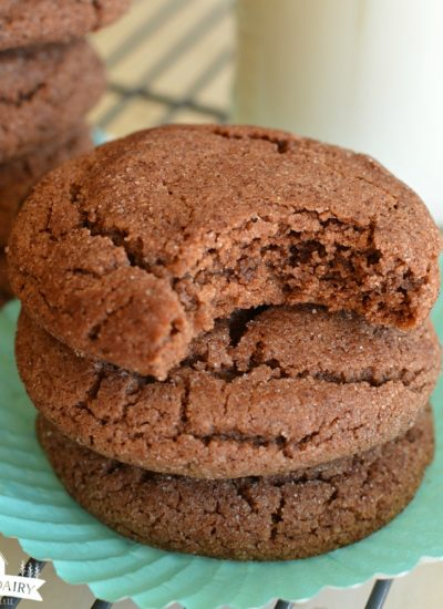 The Best Chocolate Snickerdoodles