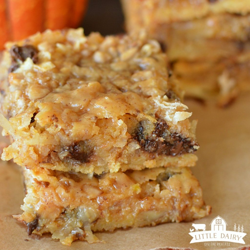pumpkin magic bars 7