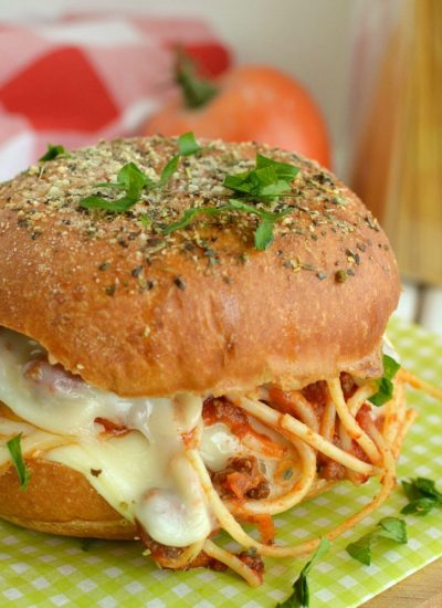 Easy Spaghetti Sliders (freezable)