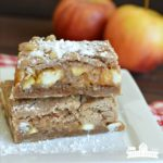 Caramel Apple Blondies (Easy)