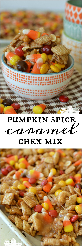 Pumpkin Spice Caramel Chex Mix