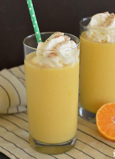 Eggnog Orange Julius (Easy)