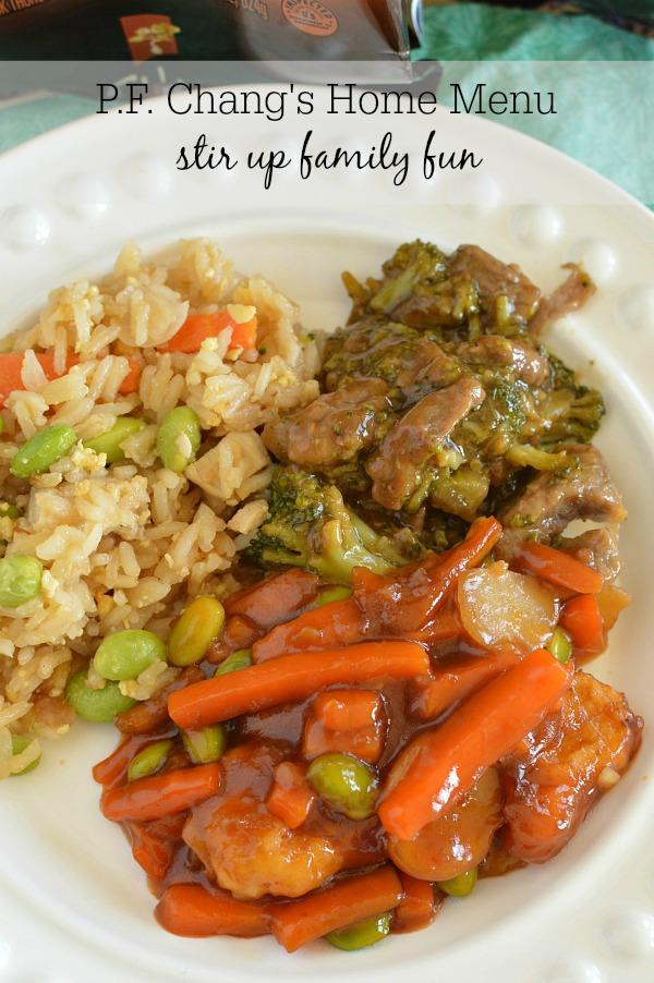 Asian Food - P.F. Changs Home Menu