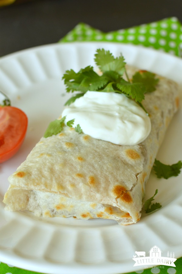 Beef and Bean Burritos- quick and easy