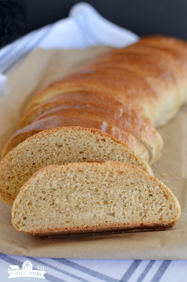 whole wheat french bread 9