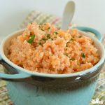 Cheesy Spanish Rice {Pressure Cooker}