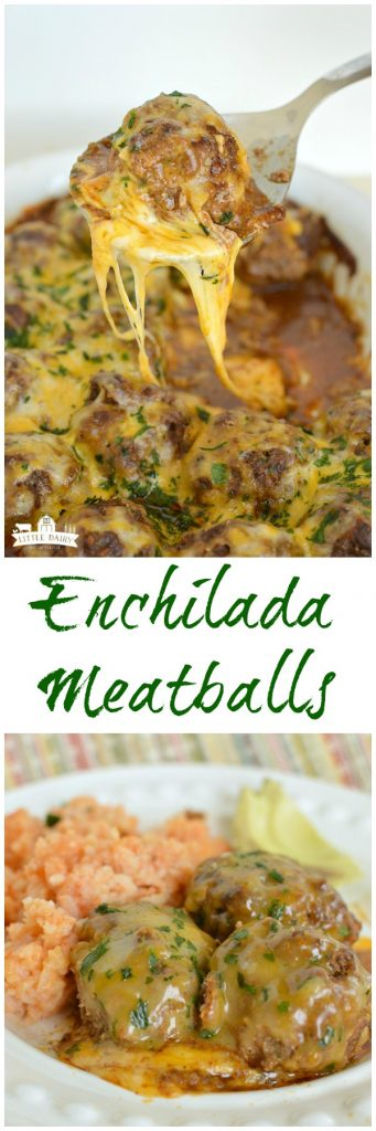 Cheesy Mexican Meatballs are a little spicy, a lot cheesy, and an ultra comforting weeknight dinner! It's a make ahead recipe!