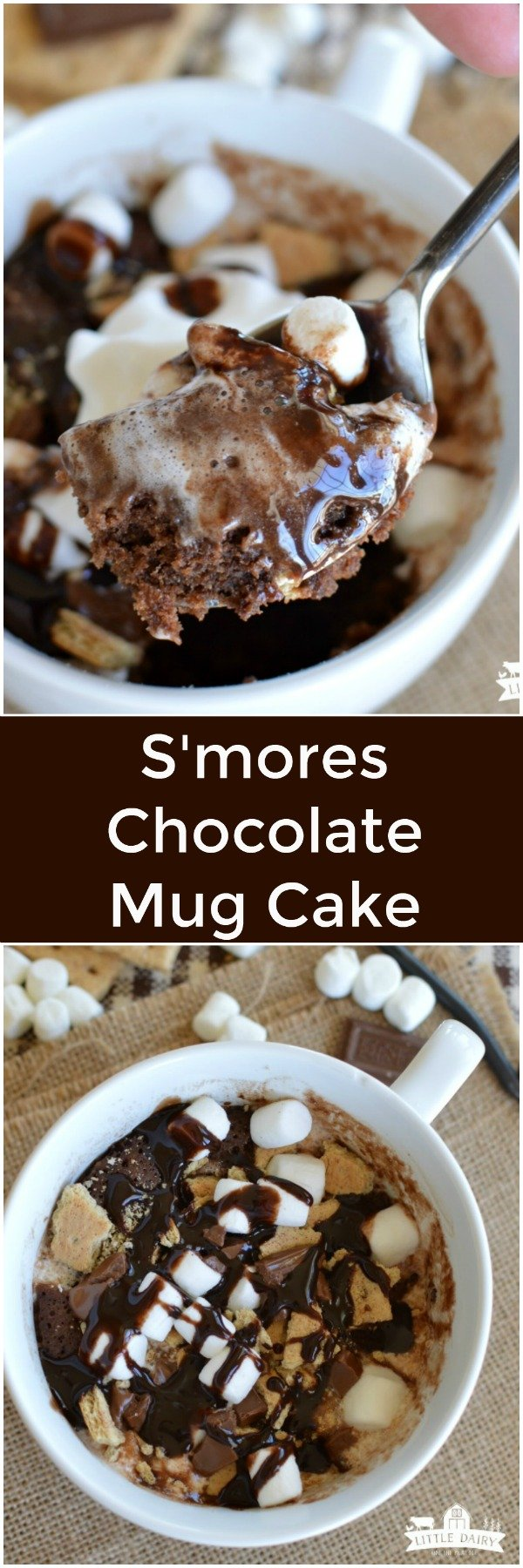S Mores Chocolate Mug Cake Little Dairy On The Prairie