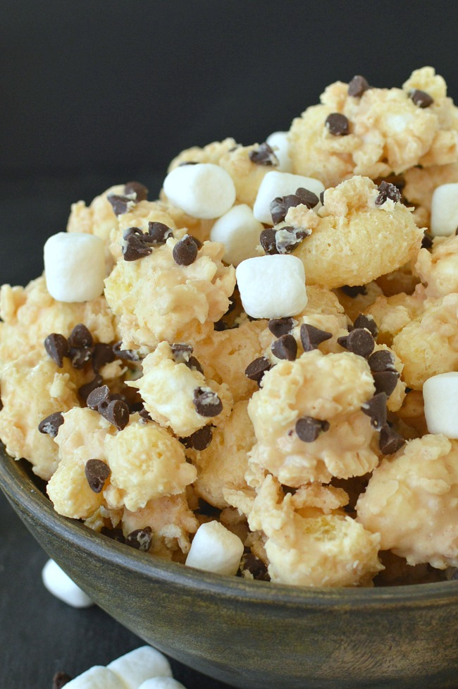 Chocolate Peanut Butter Popcorn 13