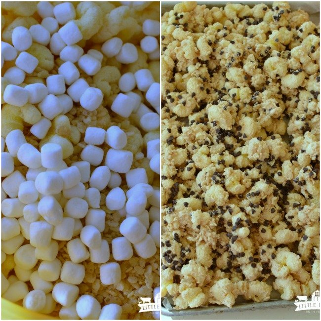 Chocolate Peanut Butter Popcorn 12