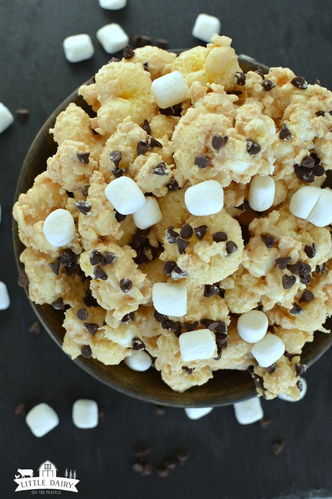 Chocolate Peanut Butter Popcorn 6
