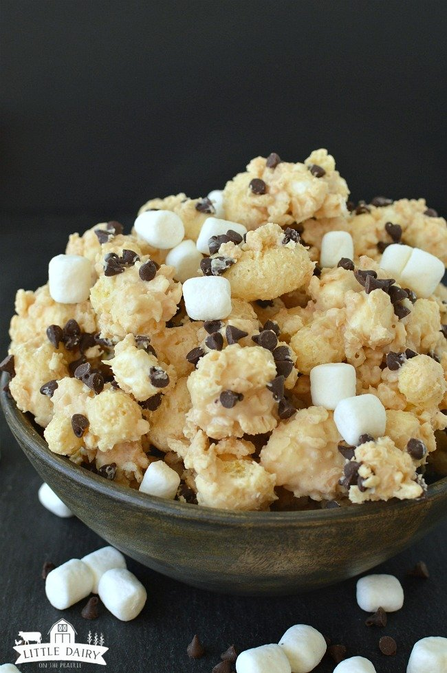 Chocolate Peanut Butter Popcorn 7