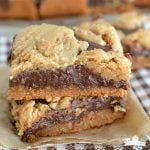 Peanut Butter Fudge Cookie Bars Recipe