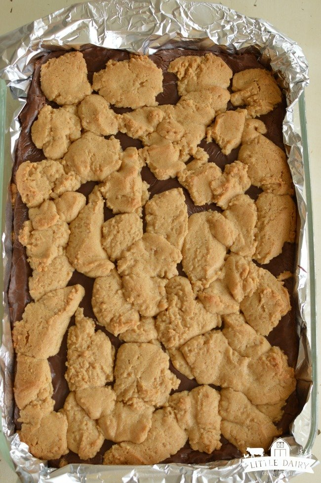 baked peanut butter chocolate cookies