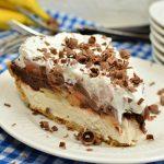 Chocolate Banana Cream Pie No Bake