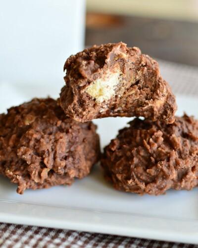 Twix No Bake Cookies - an easy recipe