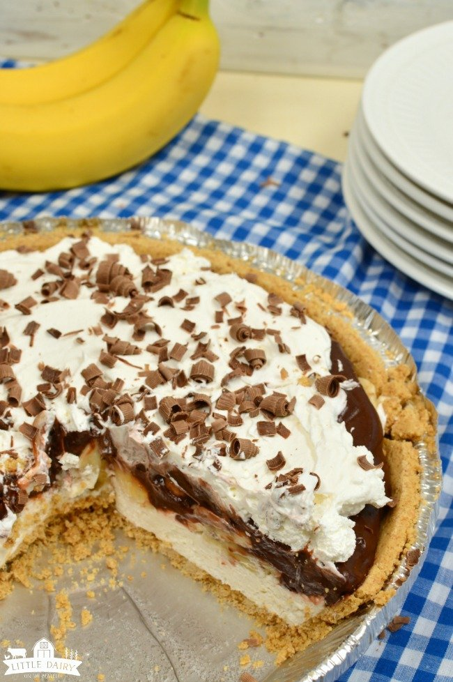 Chocolate Banana Cream Pie easy recipe