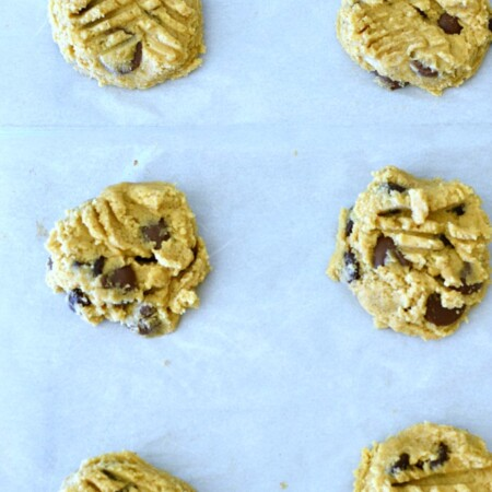 Peanut Butter Chocolate Chip Cookies - a classic combination