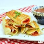 Grilled Cheese Pizza Rollups are a favorite with the kids