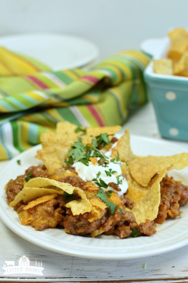 Cheesy Beef Mexican Casserole - a simple weeknight meal