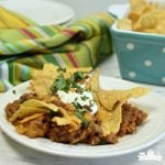 Cheesy Beef Mexican Casserole
