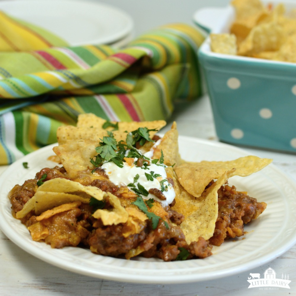 Cheesy Beef Mexican Casserole - an easy dinner