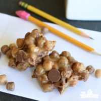 No Bake Peanut Butter Cup Cookies- featured image