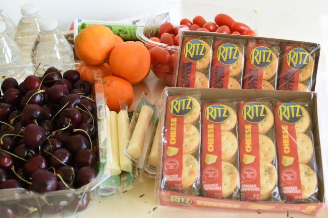 Easy Back to School Snack Hack- Ritz
